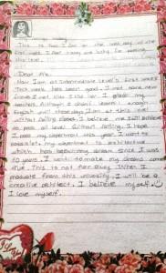 Letter 3
